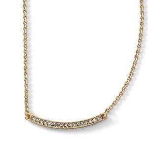 EUC Lia Sophia Raise The Bar Necklace